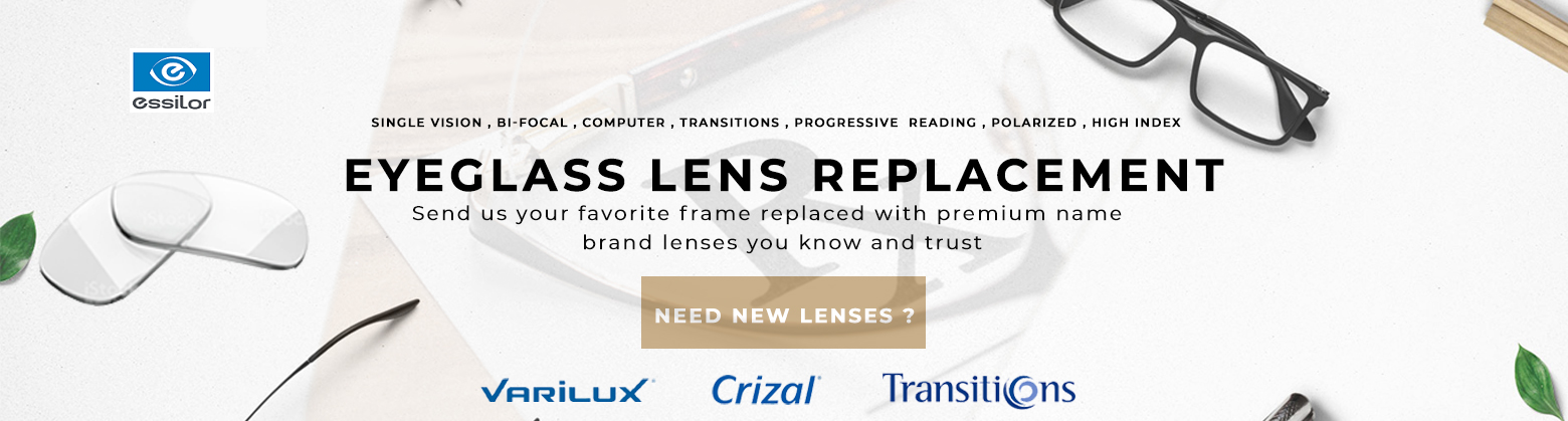 Eyeglass Lens Replacement Service