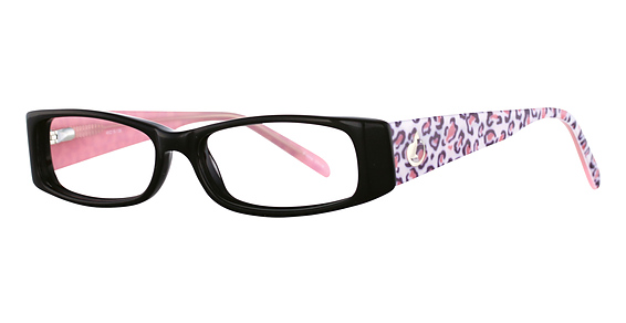 Black/Pink Leopard