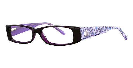 Purple/Blue Leopard