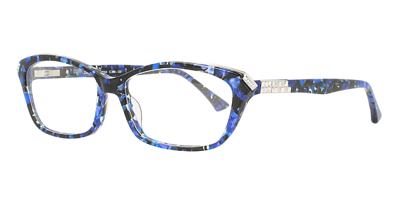 Blue Aqua-Silver